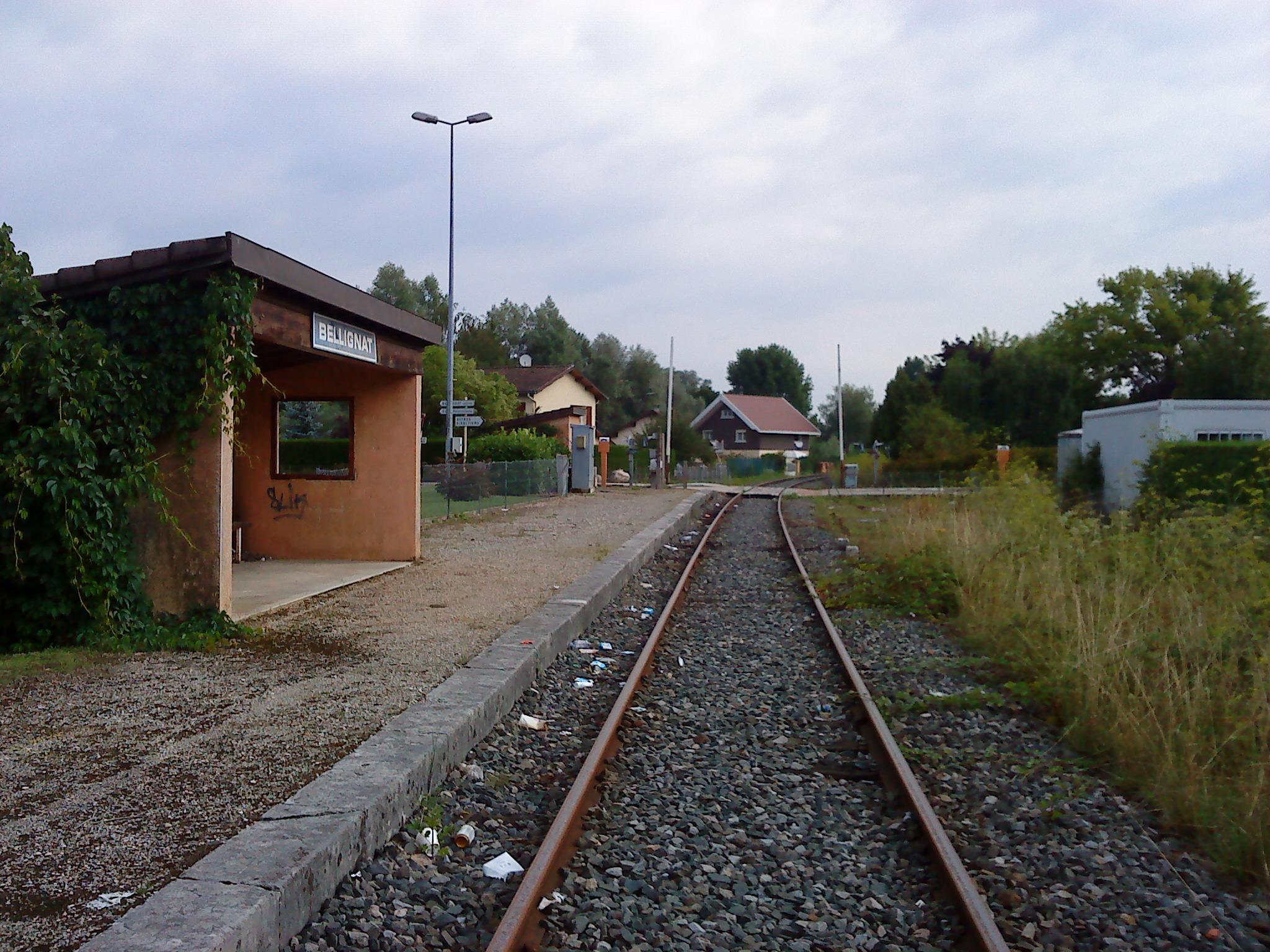 Gare de Bellignat