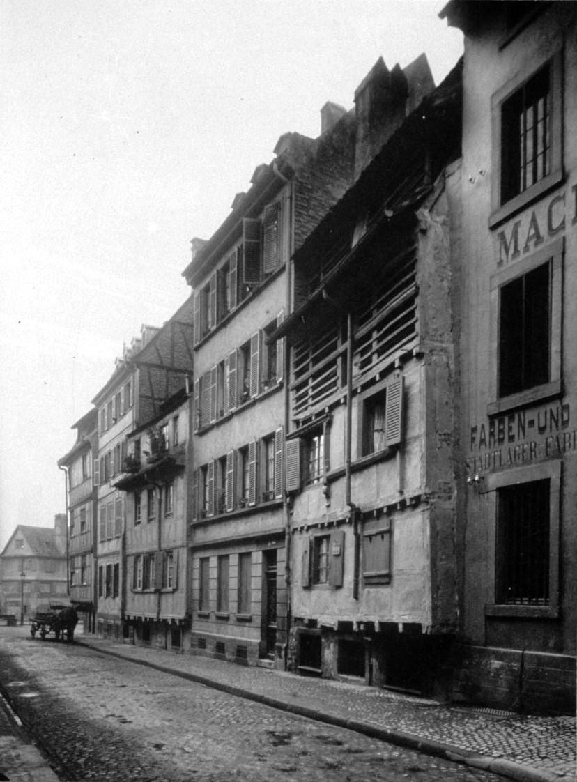 Fossé des Tanneurs 46 sqq v 1910