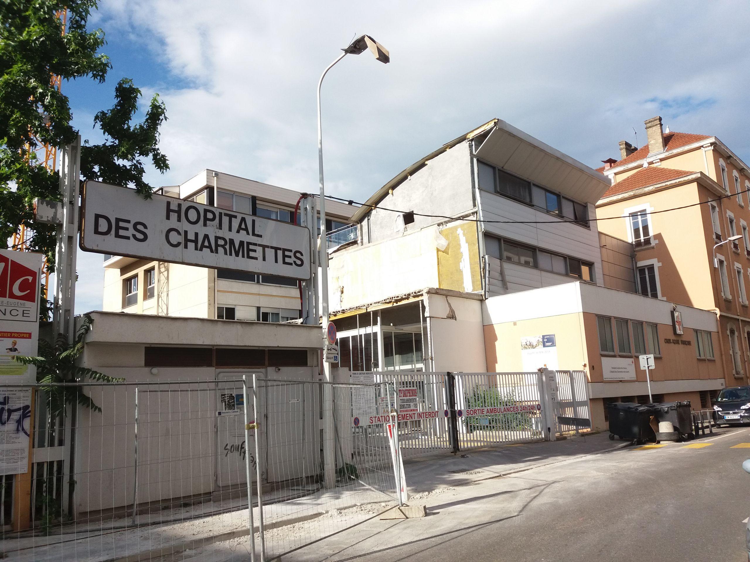 Lyon 6e Hôpital des Charmettes