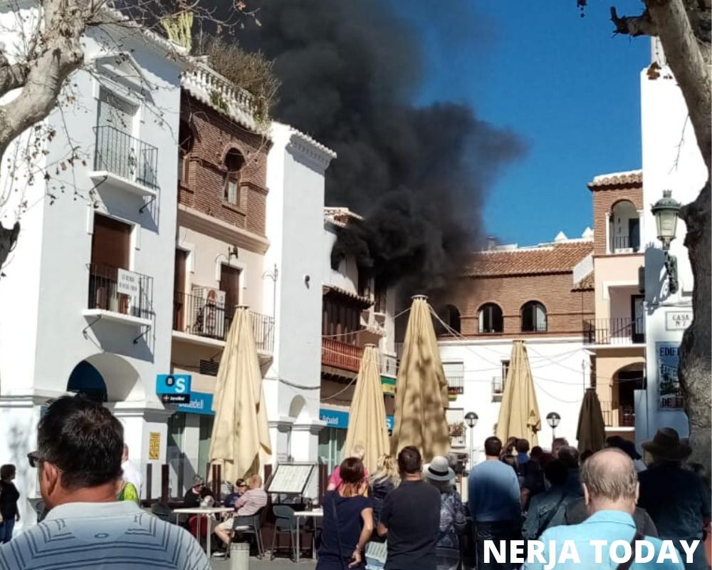 Le Jardin De Saint Adrien Frais Fire Breaks Out On Nerja Balcon