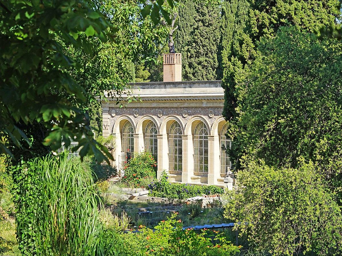 1200px L orangerie du jardin des plantes Montpellier %