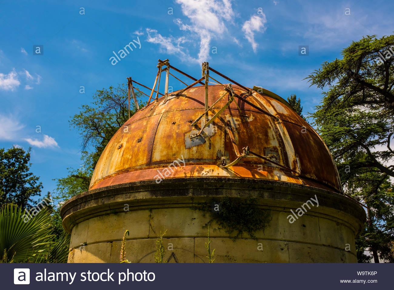 astronomy observatory observatoire astronomique in jardin des plantes de montpellier botanic gardens montpellier france built at the suggestion W9TK6P