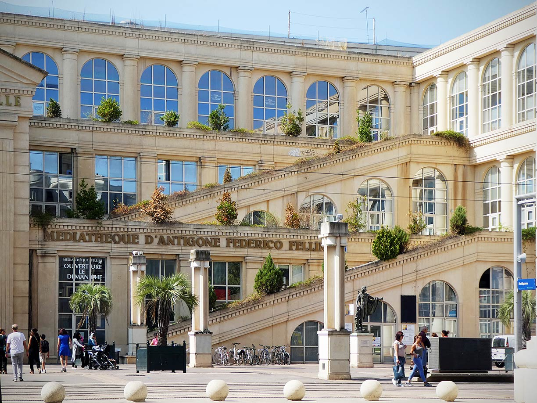 Mediatheque Montpellier