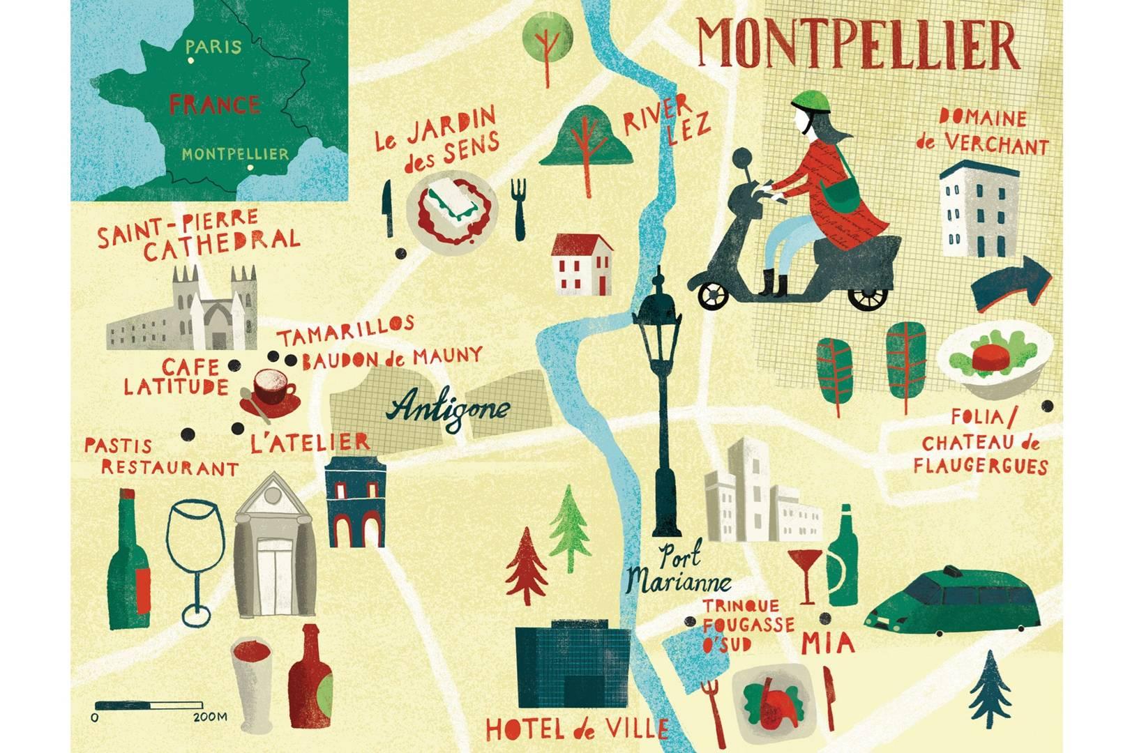 montpellier france map conde nast traveller 20may14 gary venn