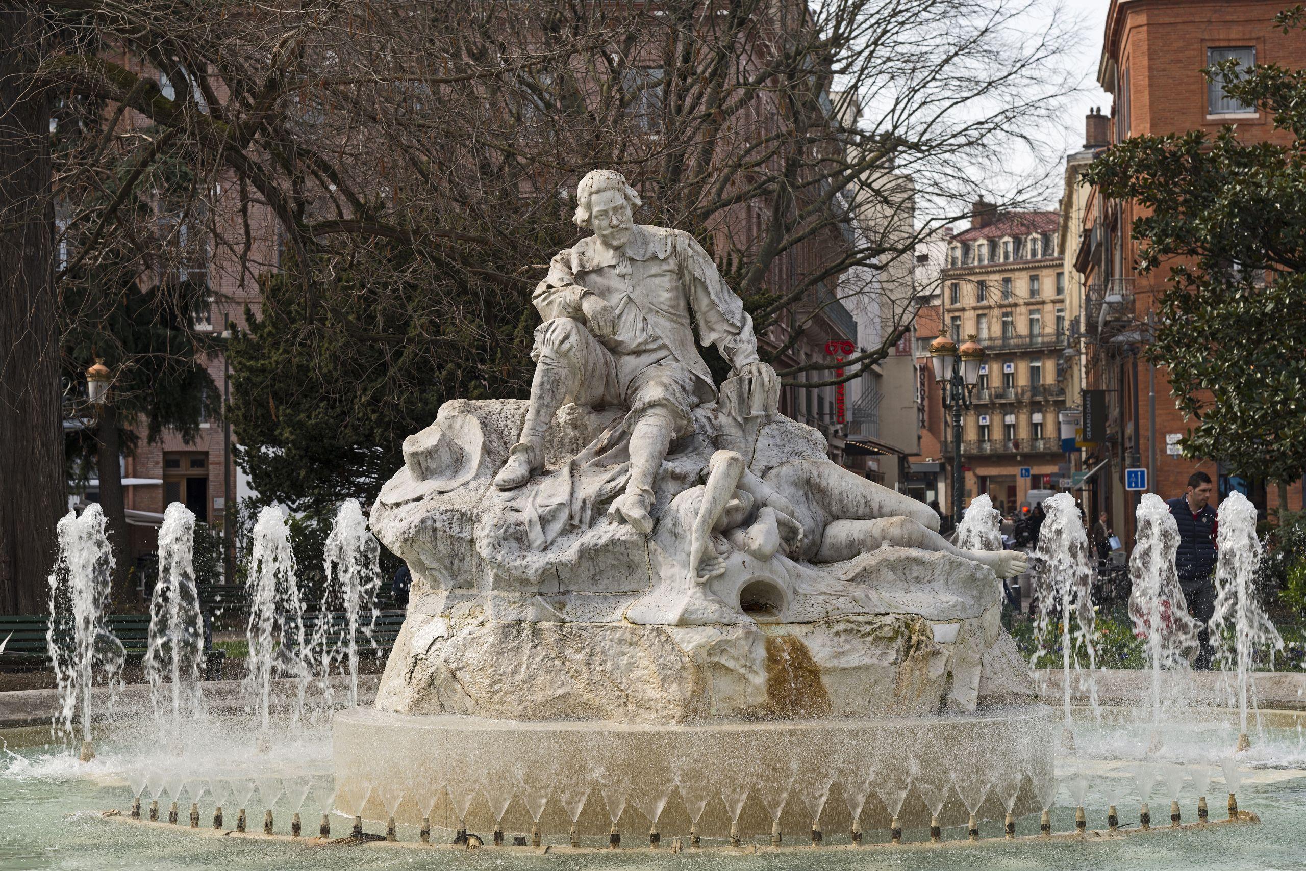 Alexandre Falguière Pèire Godolin Toulouse