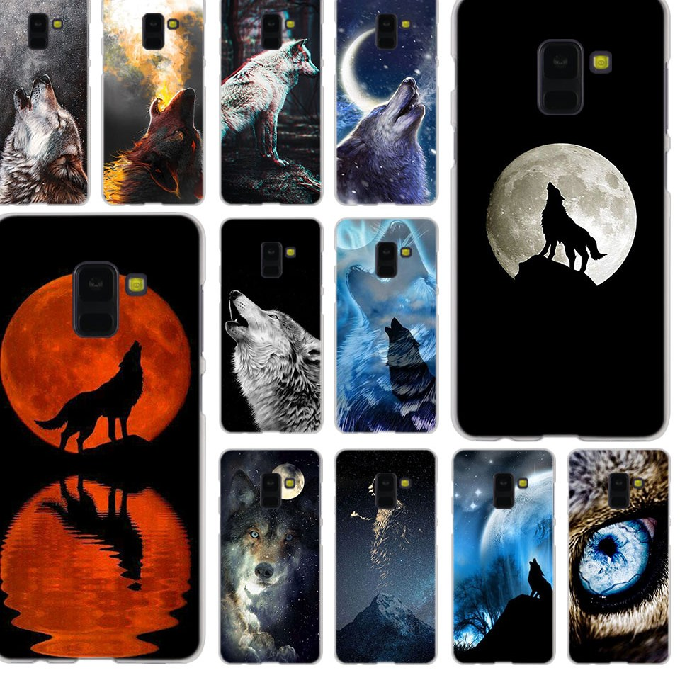 MLLSE font b Howling b font wolf live Fashion font b Case b font Cover for