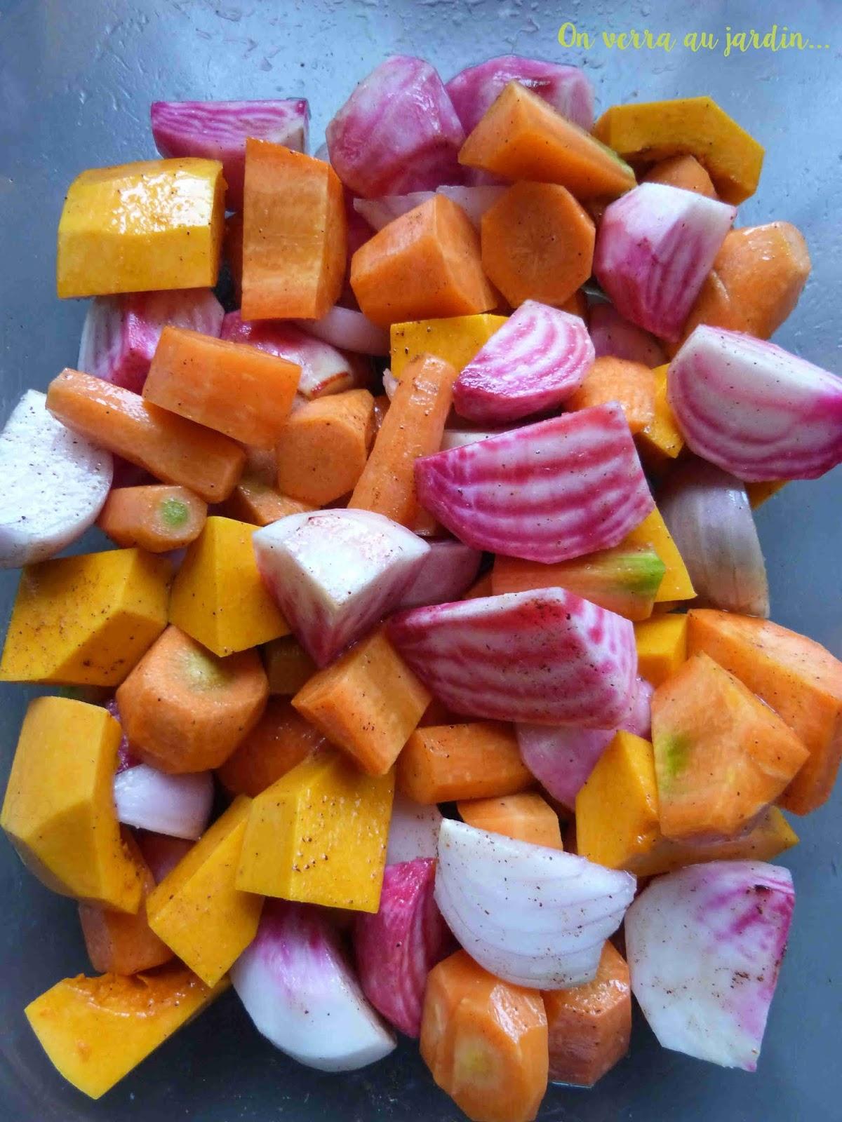 légumes d automne au four