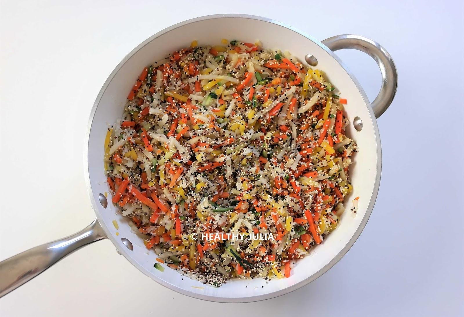 xJulienne de légumes riz et quinoa 6