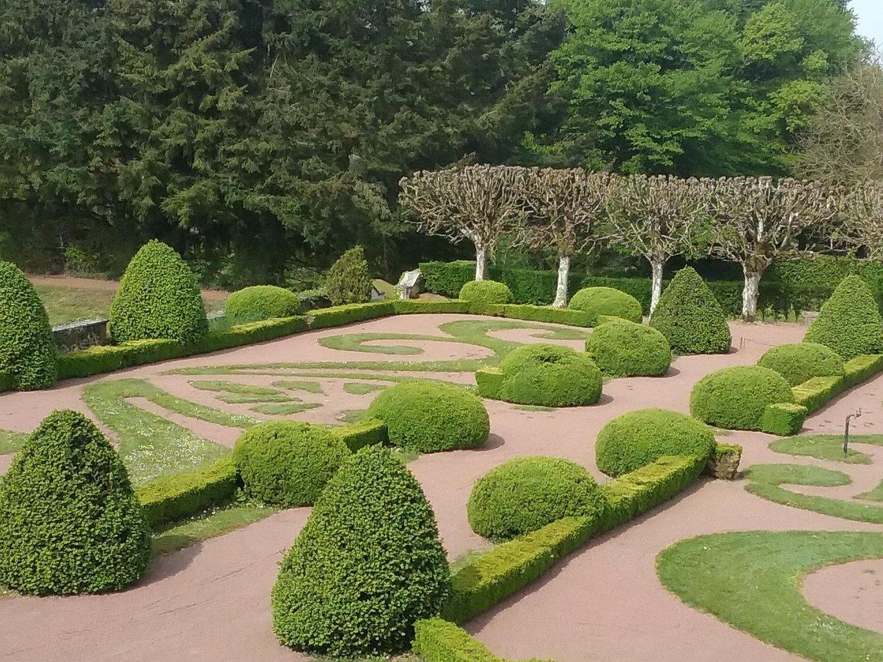 une partie des jardins