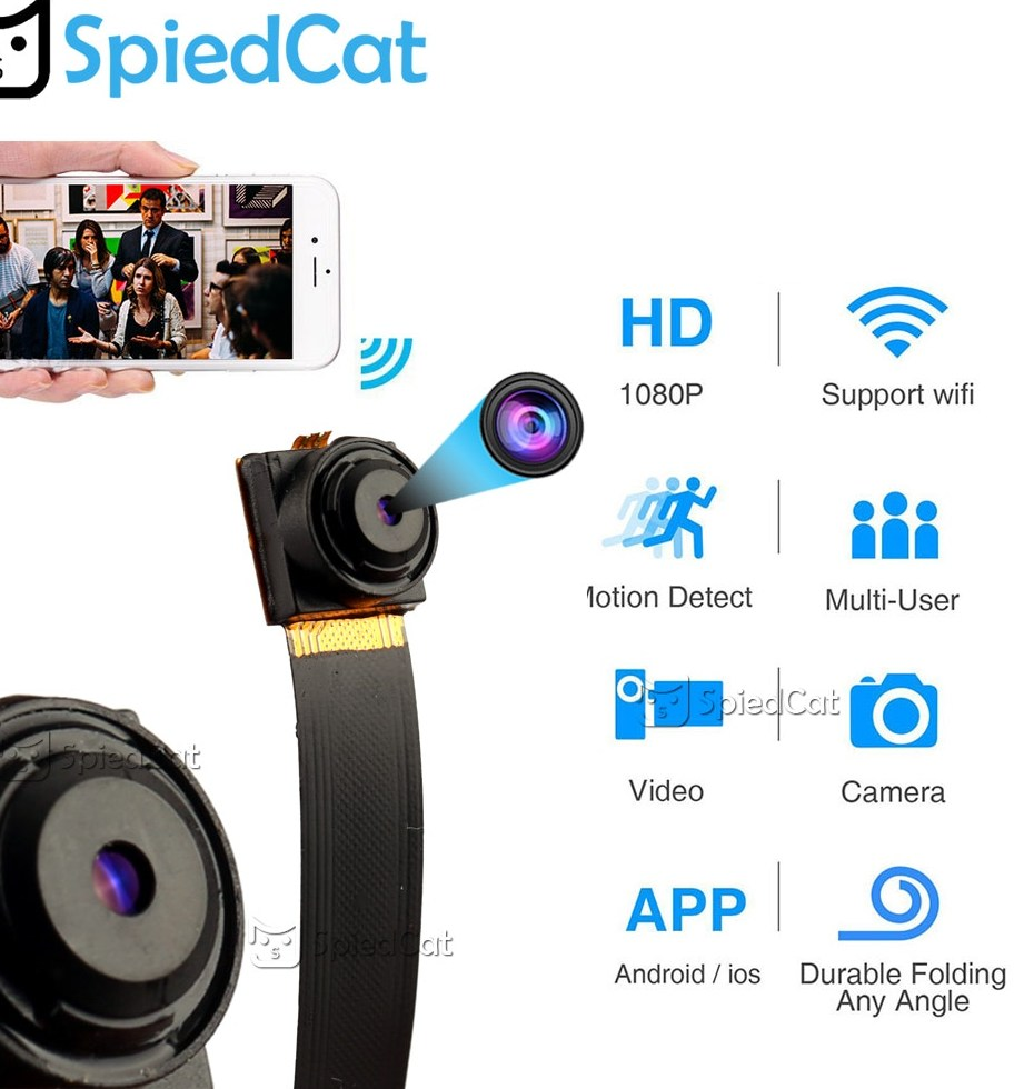 1080P Full HD H 264 Ultra Mini WIFI Flexible Camera Video Audio Recorder Motion Detection Camcorder