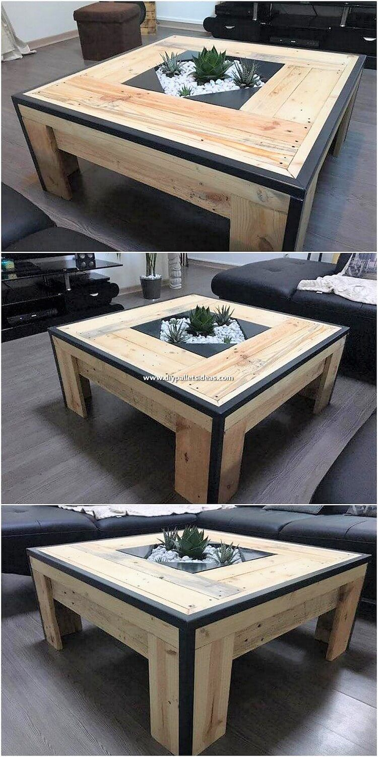 Meubles De Jardin Luxe Shaped Into the Interesting Project Of the Wood Pallet Table