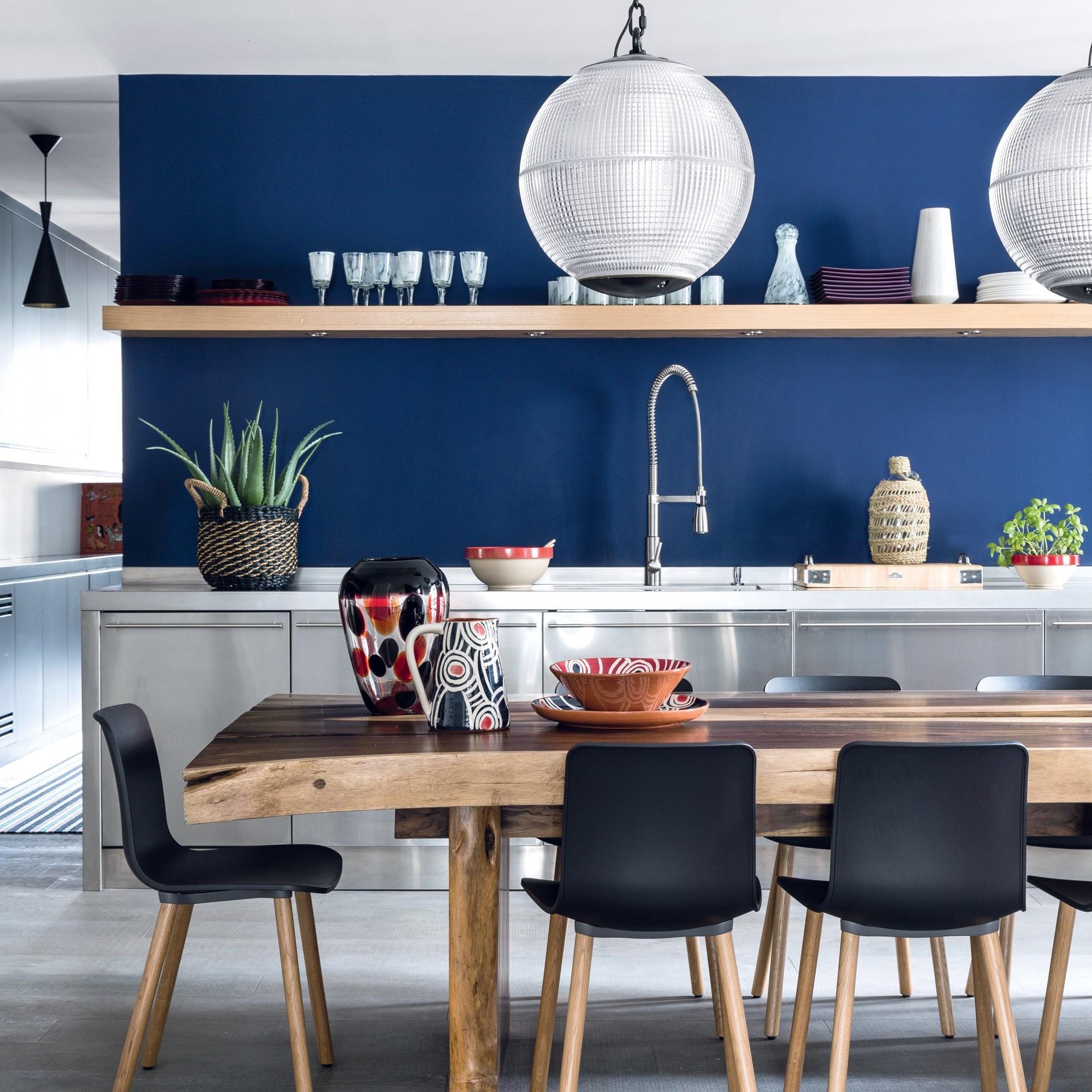 luxe canape darty cuisine bleue marie claire et cuisine bleu marine et blanche avec idees astucieuses