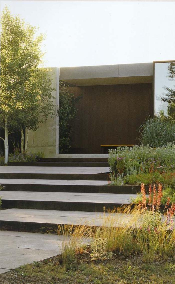 jardin en pente am C3 A9nagement ext C3 A9rieur jardin sur pente