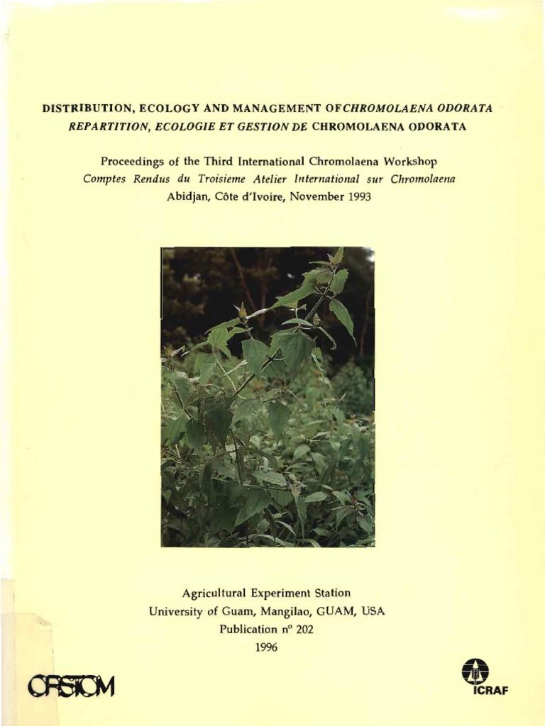 Mon Chalet De Jardin Charmant Chromolaena Biocontrol 1993 Rotation Culturale Of 67 Charmant Mon Chalet De Jardin