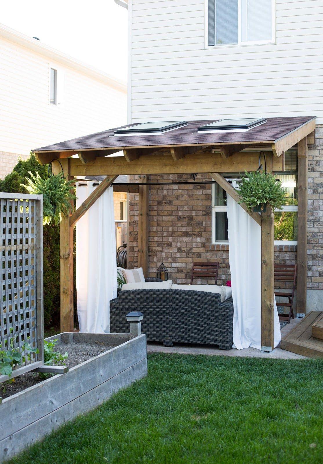 Mon Chalet De Jardin Élégant Hdblogsquad How to Build A Covered Patio