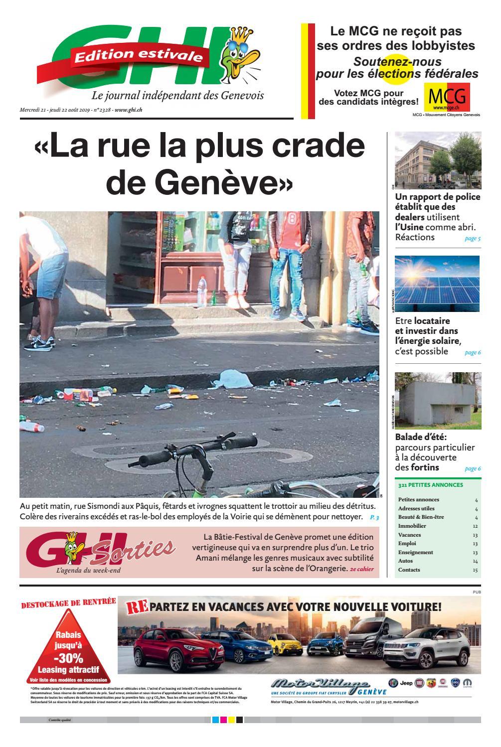 Nettoyage Jardin Élégant 2019 08 22 by Ghi & Lausanne Cités issuu