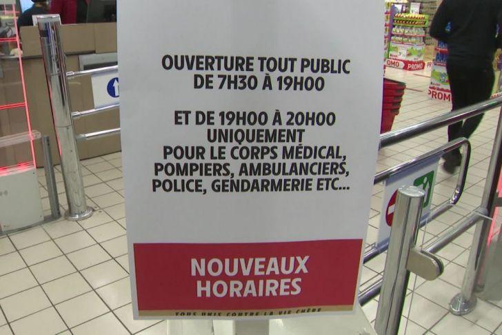 Ouverture Jardiland Frais Coronavirus Perpignan Des Supermarchés Inaugurent Des