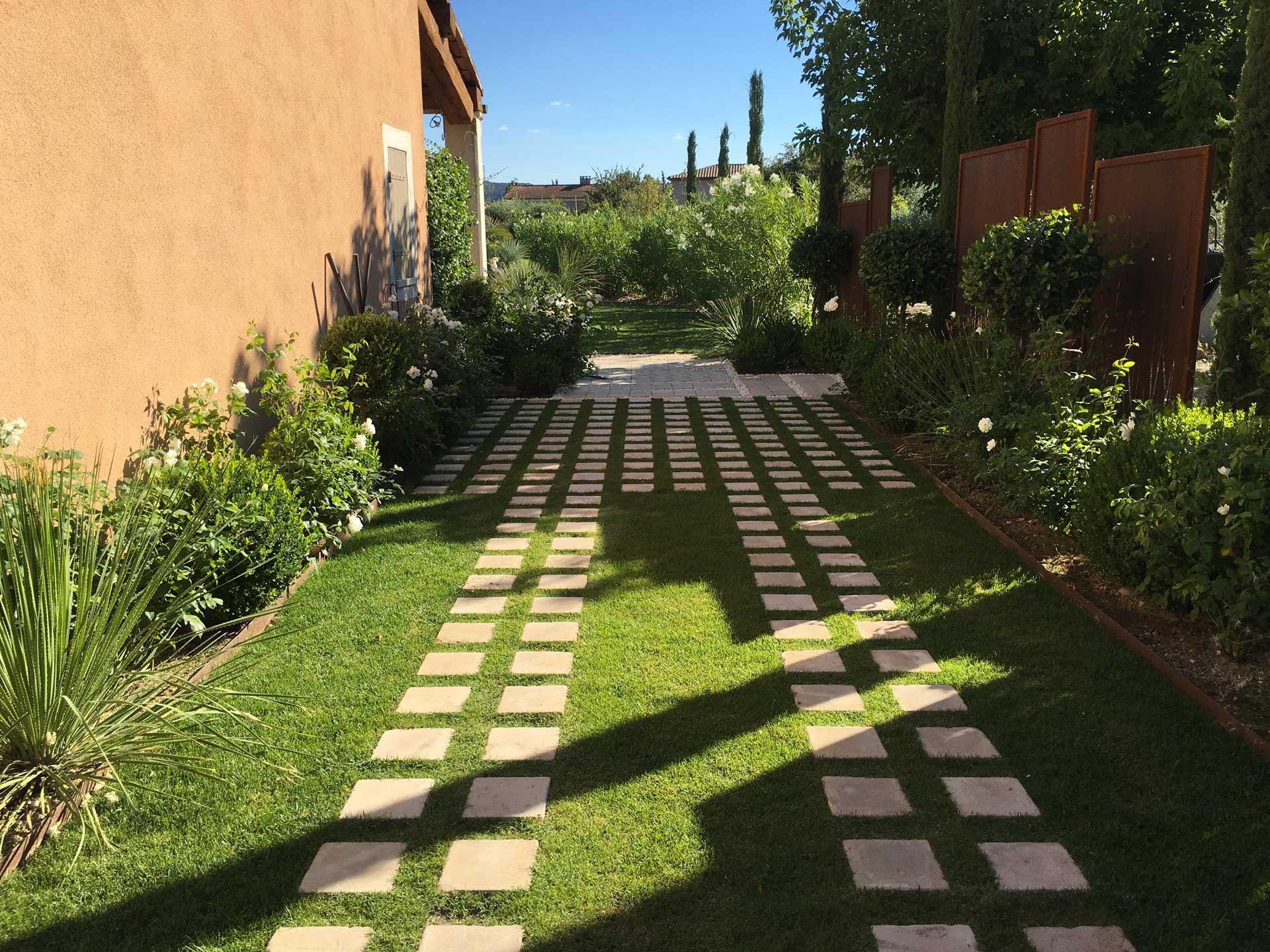 Paysager son Jardin Charmant Aix En Provence Création Jardin Privé Architecte