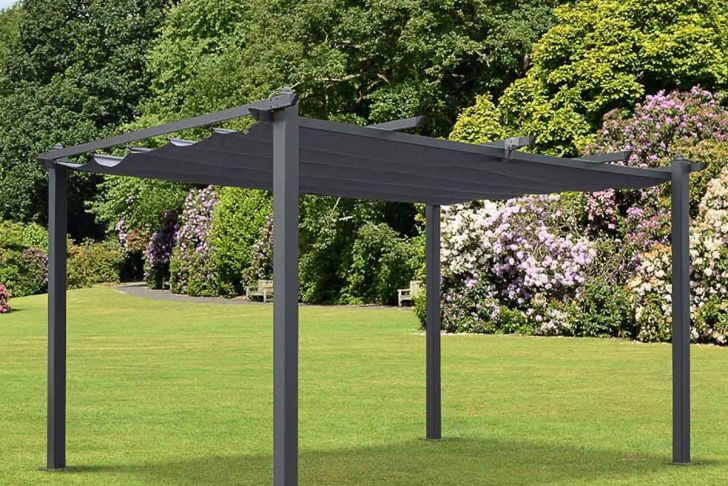 Pergola Aluminium En Kit Brico Depot Beau Condate 3x4m Semi Permanent Aluminium Outdoor Gazebo with