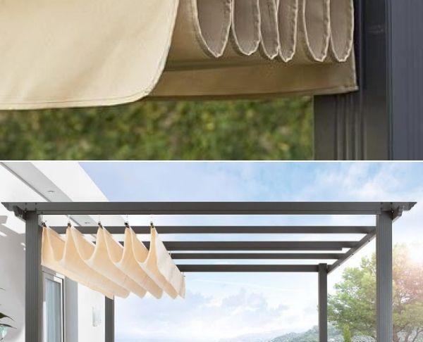 Pergola Brico Inspirant Diy Pergola Retractable Roof Shade Slide the Roof Closed to