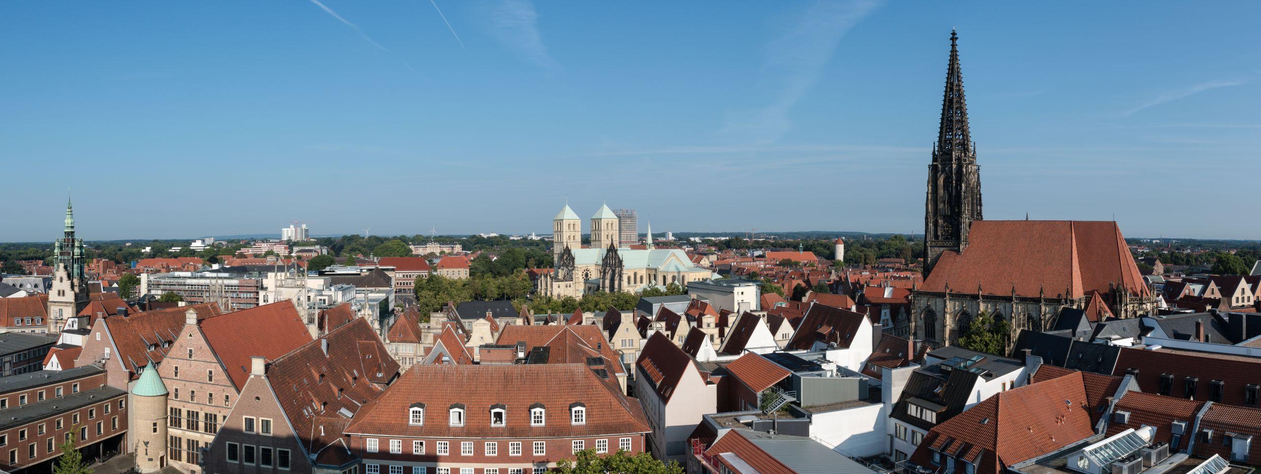 Münster Altstadt Panorama 2017 2075 9