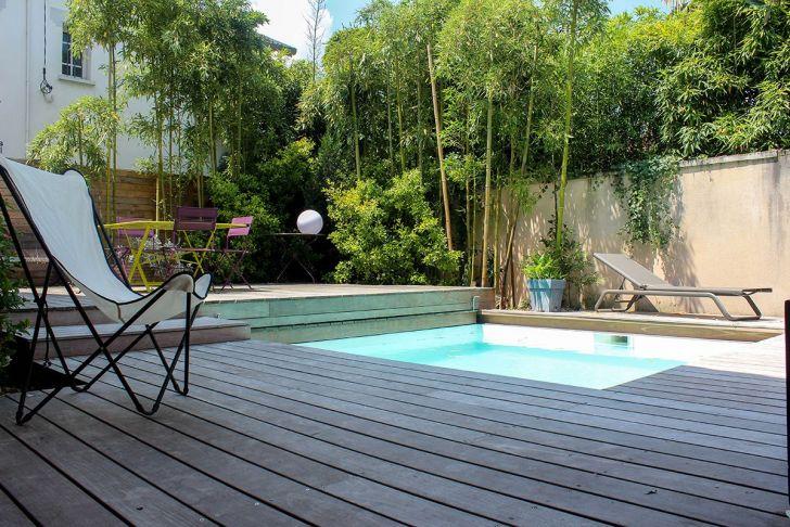 Petit Jardin Avec Piscine Charmant Piscine Invisible Avec Images