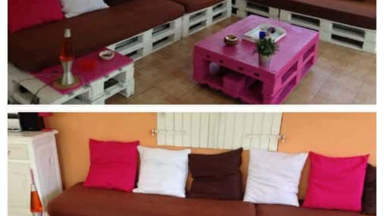 1001pallets canape dangle en palettes corner pallet sofa