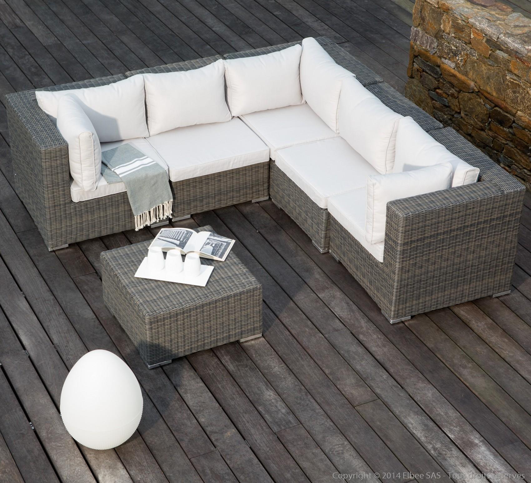 salon de jardin canape d angle 7 pas cher beau convenientedu of cour avant