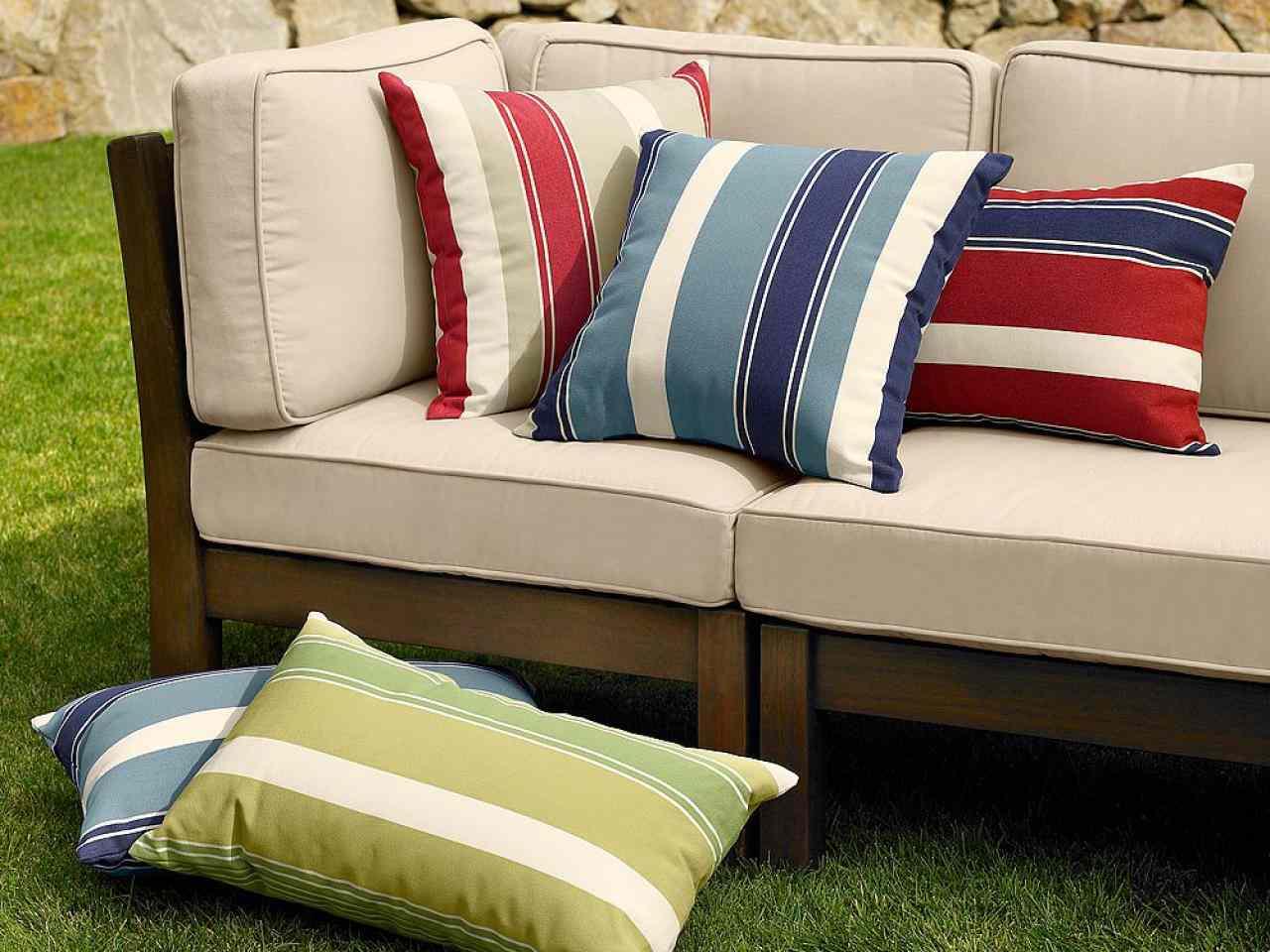 canape salon de jardin minimaliste deniser pas cher bleu