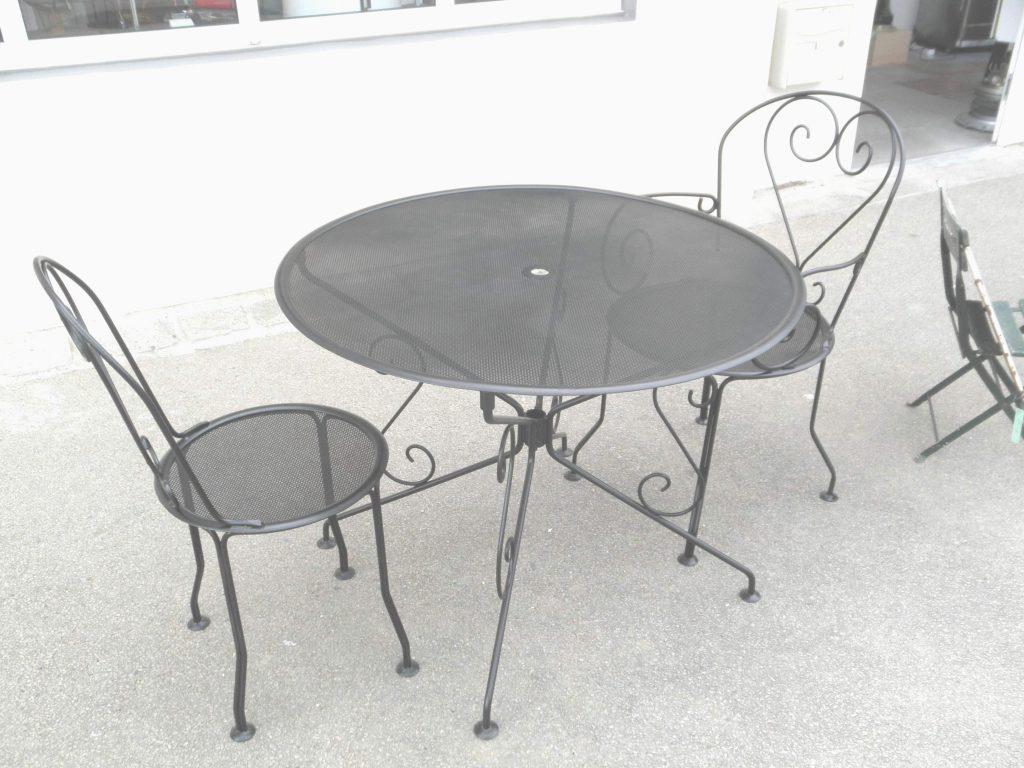 salon de jardin acier charmant table et chaise pour terrasse pas cher de salon de jardin acier