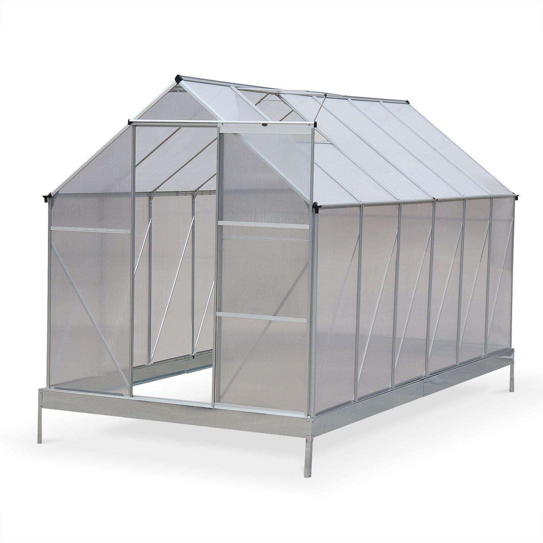 serre de jardin sapin en polycarbonate 7m avec base 2 lucarnes de toit gouttiere polycarbonate 4mm ee15dab1eeceb989f7f80eb2f7bd3de6