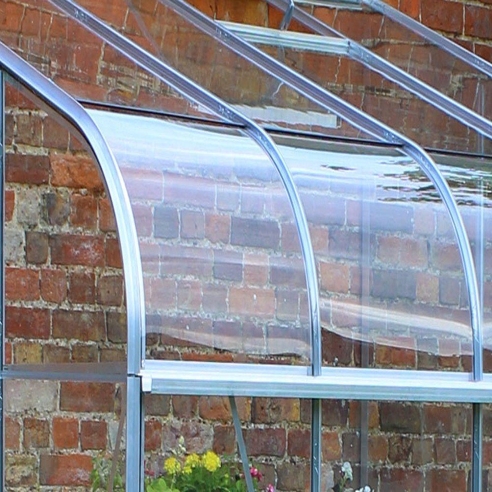 serre de jardin adossee silverline verre horticole 48 m2 aluminium embase halls 4