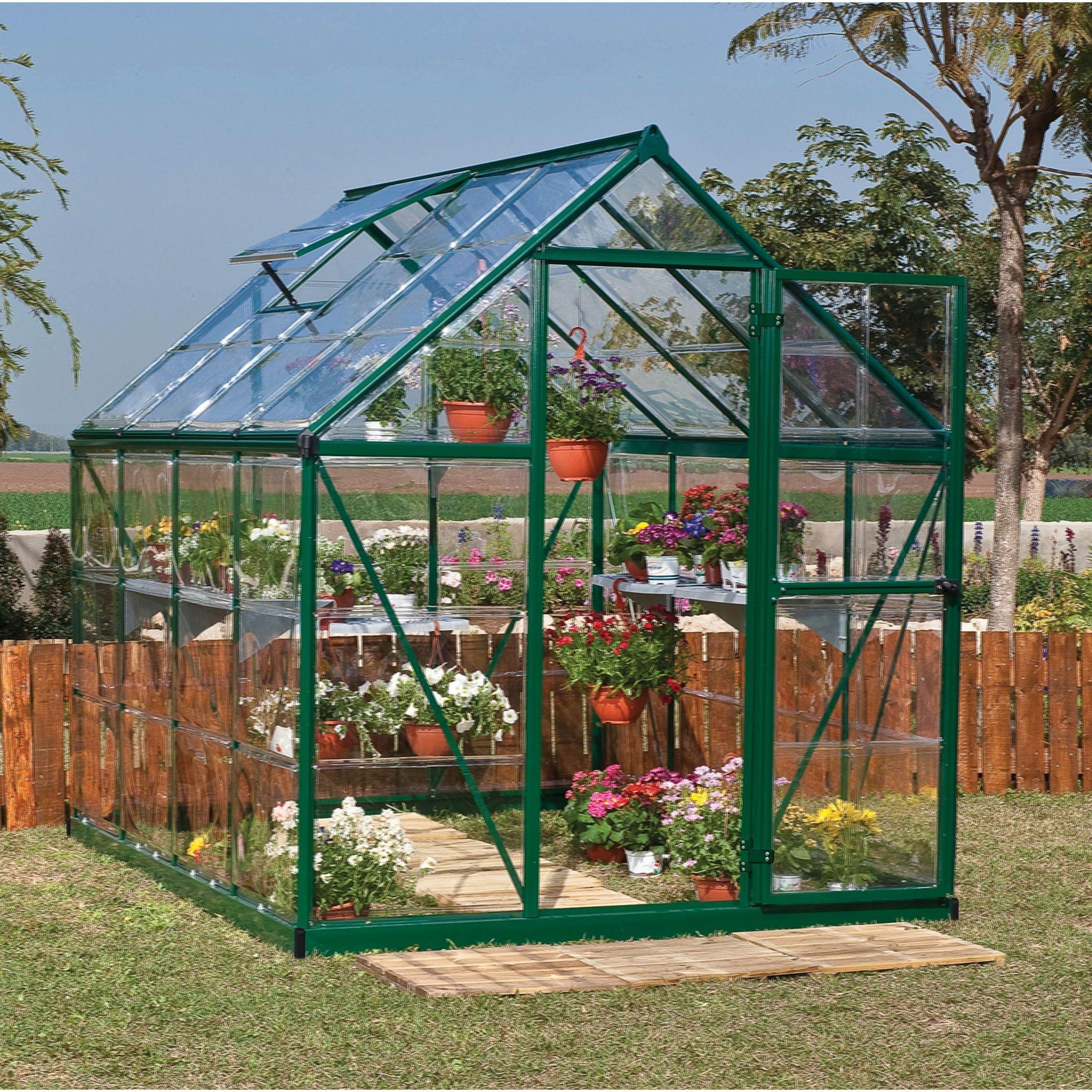 Serre De Jardin Polycarbonate Best Of Serre De Jardin Verte Harmony 4 5 M² Aluminium Et