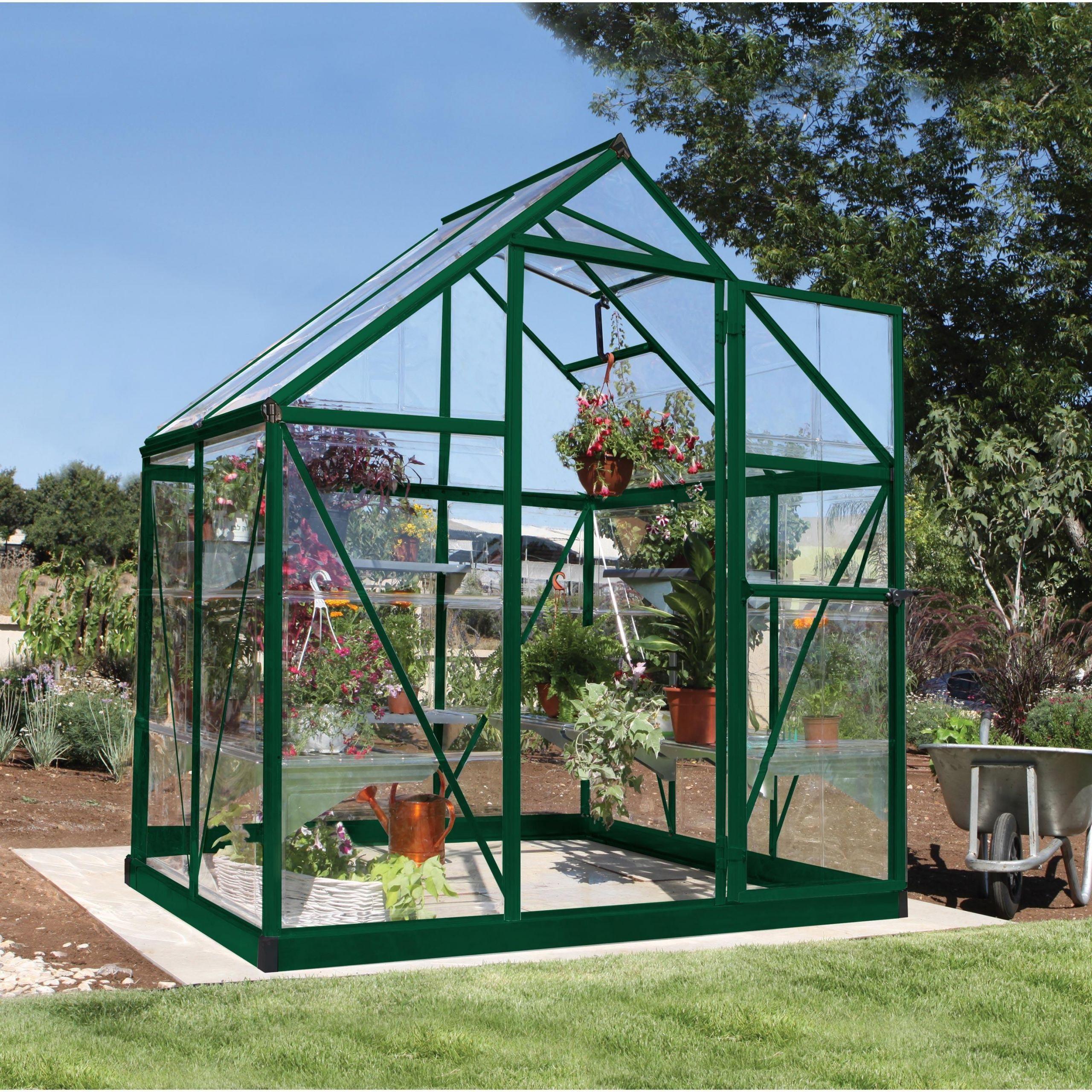 Serre De Jardin Polycarbonate Frais Serre De Jardin Verte Harmony 2 3 M² Aluminium Et Of 67 Génial Serre De Jardin Polycarbonate