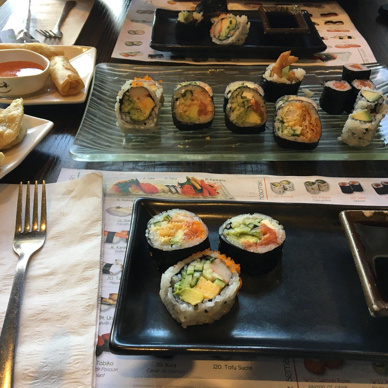 Sushi Jardin Beau the Best Sushi In Boucherville Tripadvisor