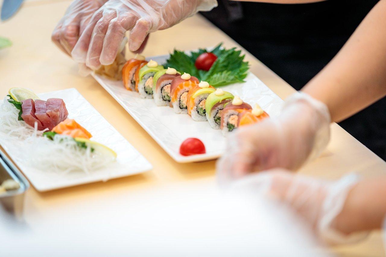 Sushi Jardin Élégant 10 Best Japanese Restaurants with Outdoor Seating In Nice