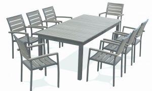77 Beau Table De Jardin Aluminium Avec Rallonge