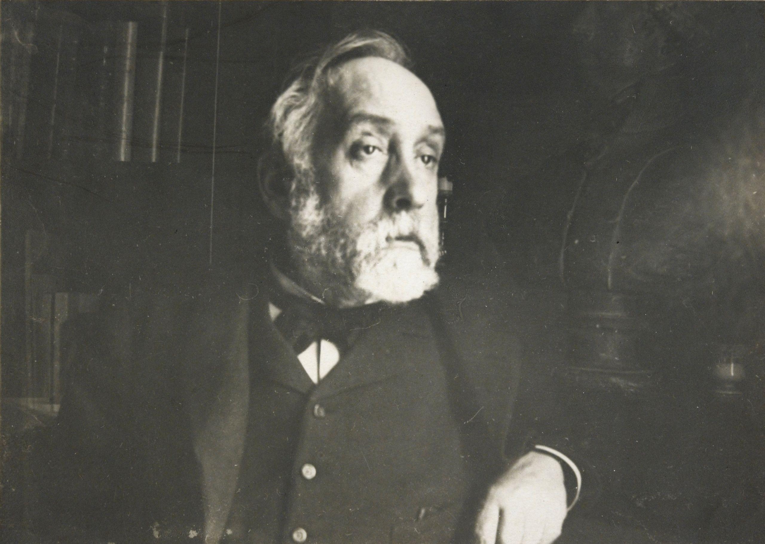 Edgar Degas self portrait photograph