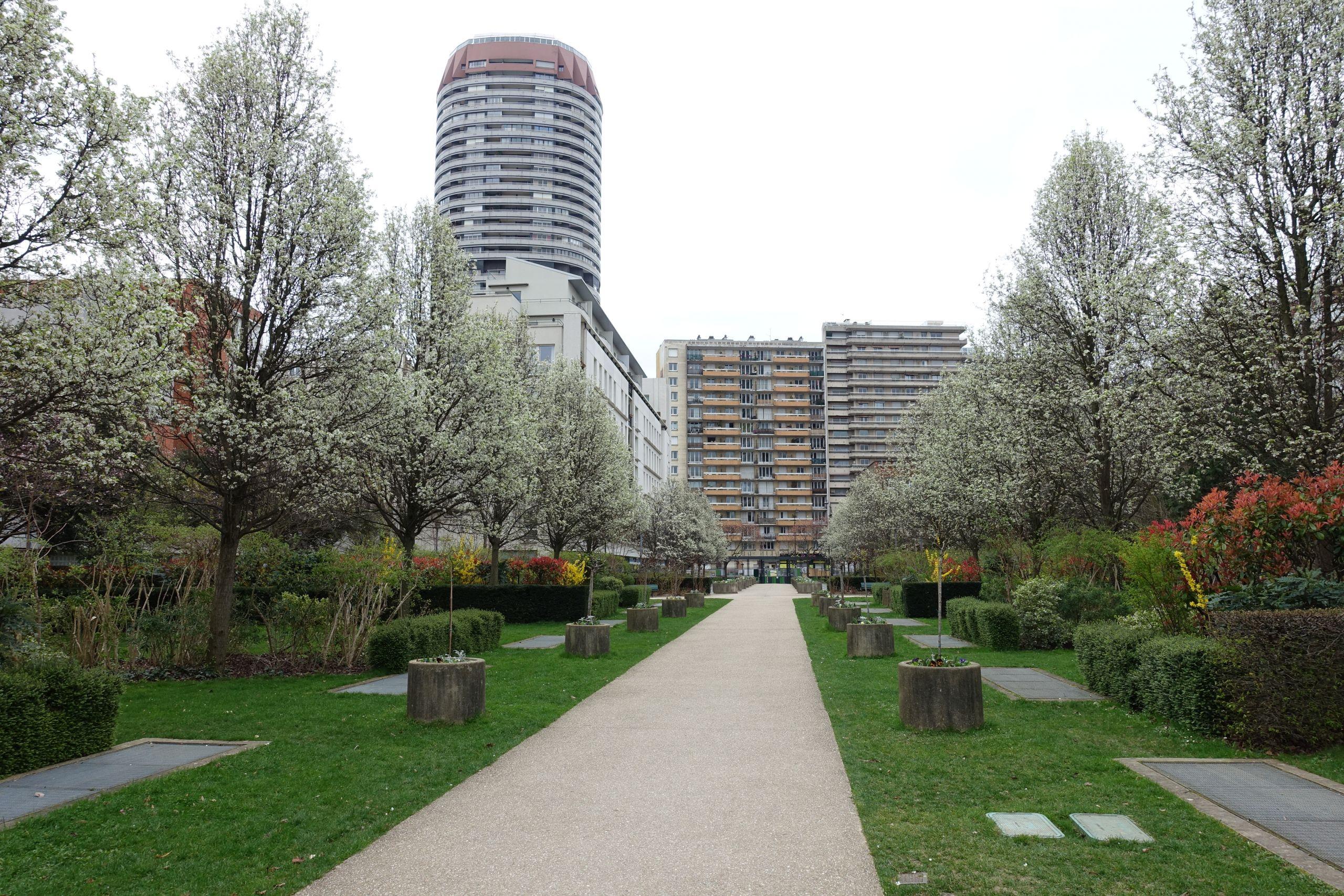 Jardin du Moulin de la Pointe Paris 13 %