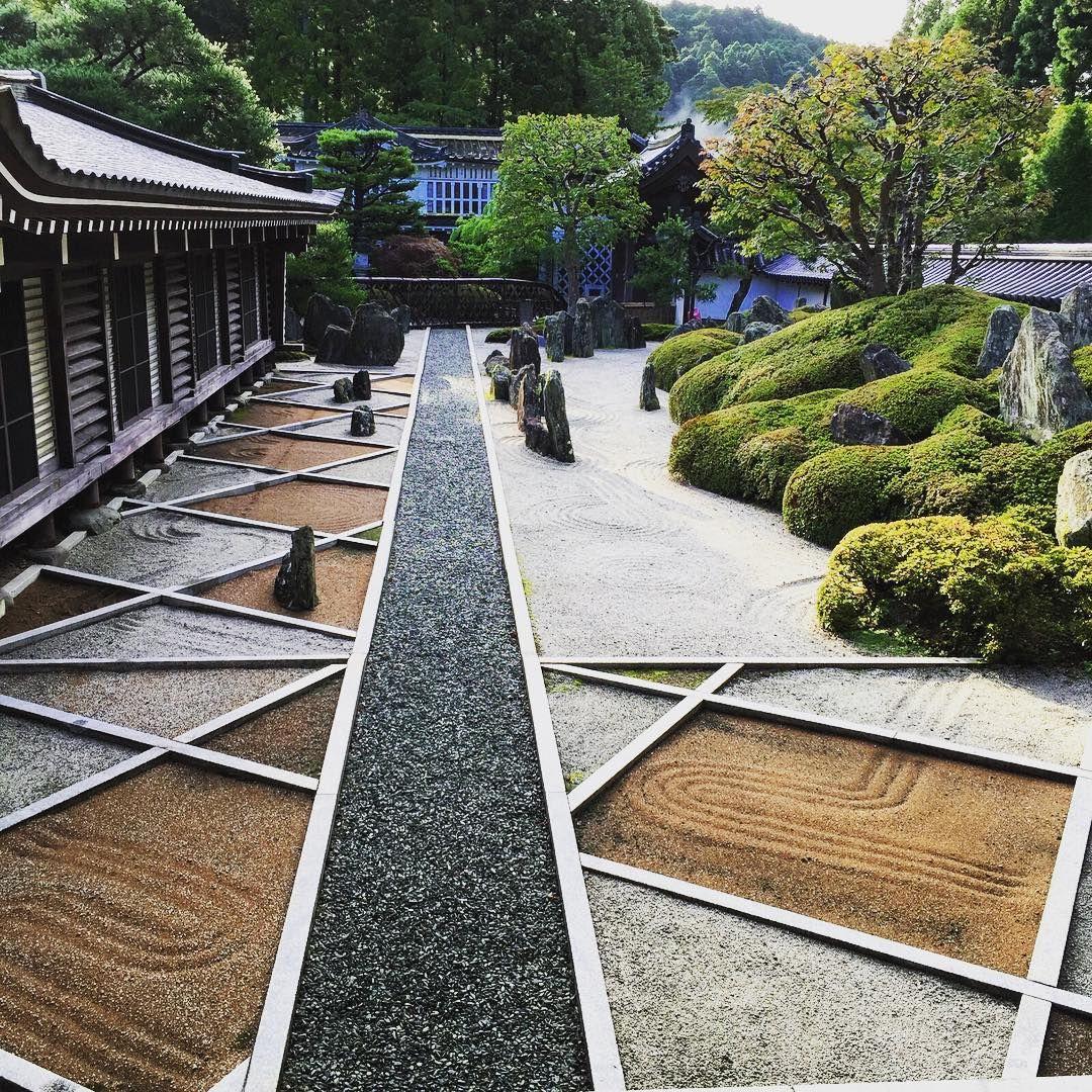 Univers Jardin Inspirant today S Awakening Fukuchiin Koyasan Japan Zen Garden