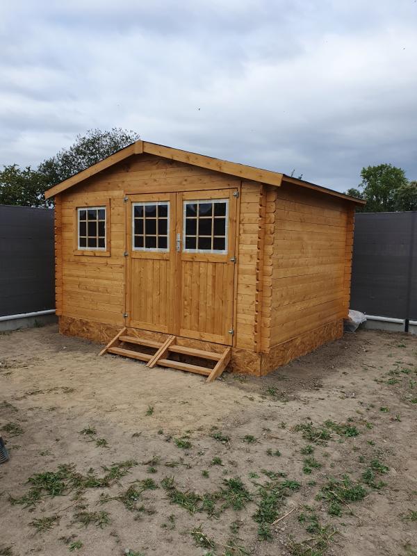 abri de jardin bois naterial kerno axess ep 28 mm 9 05 m2 e