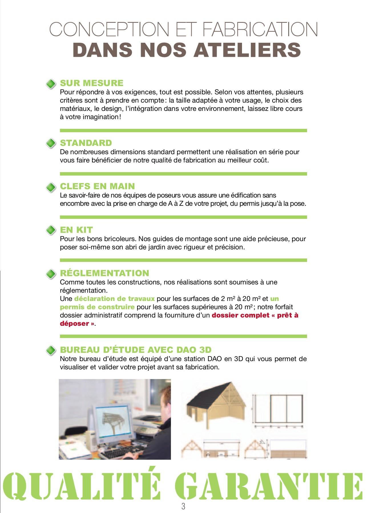Abri De Jardin Permis De Construire Charmant Fabricant Poseur Pages 1 16 Text Version
