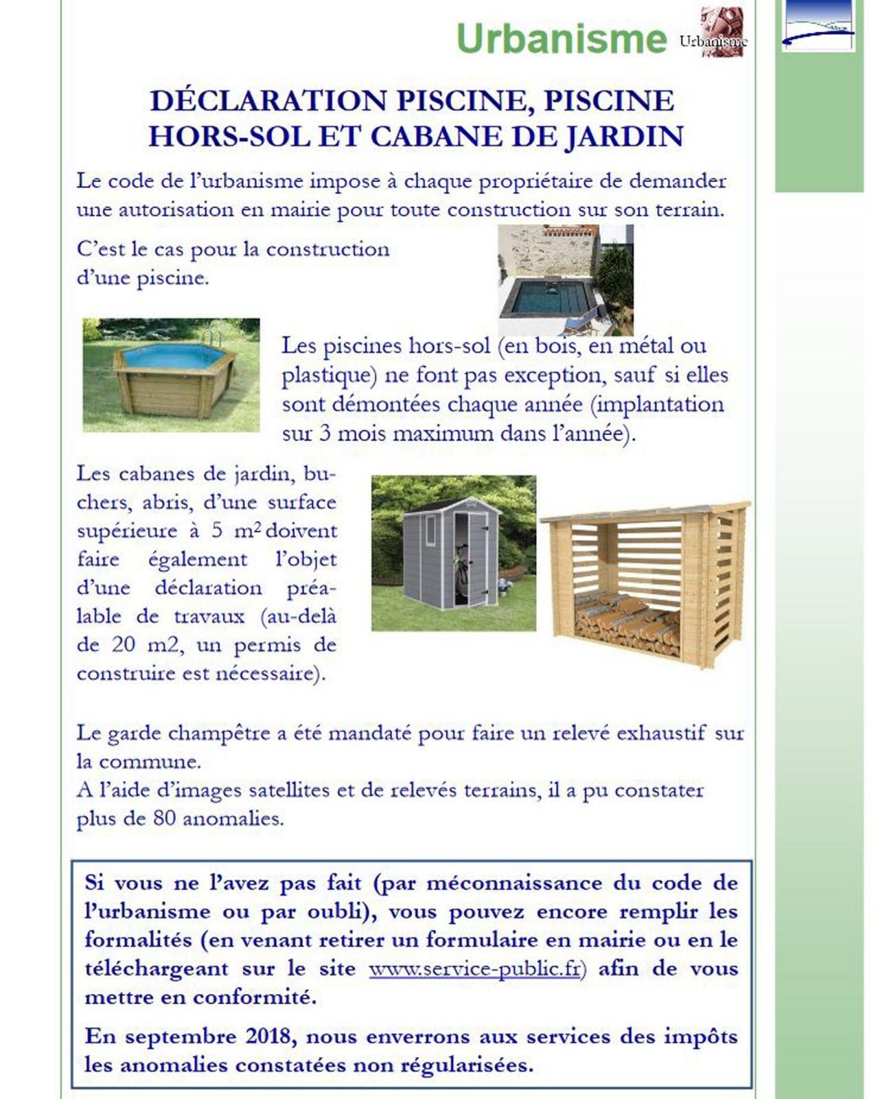 Abri De Jardin Permis De Construire Luxe Edition Besan§on