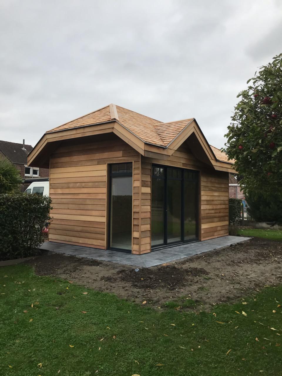 Abri De Jardin Permis De Construire Luxe Studio De Jardin Ossature Bois Red Cedar
