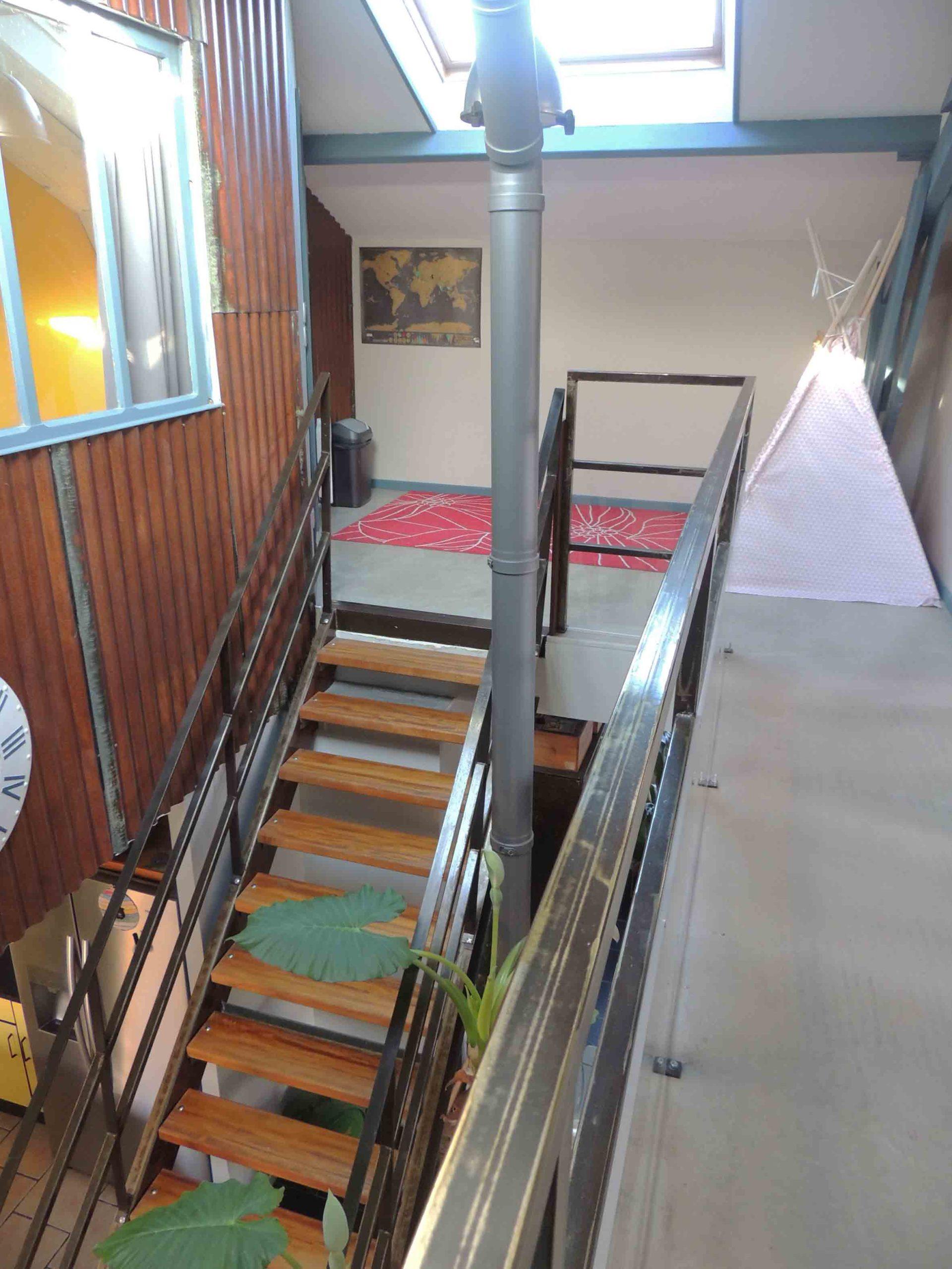 sud loire maison style loft t2 sur 800 m2 de jardin