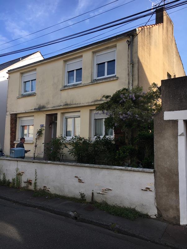 maison existant cote rue