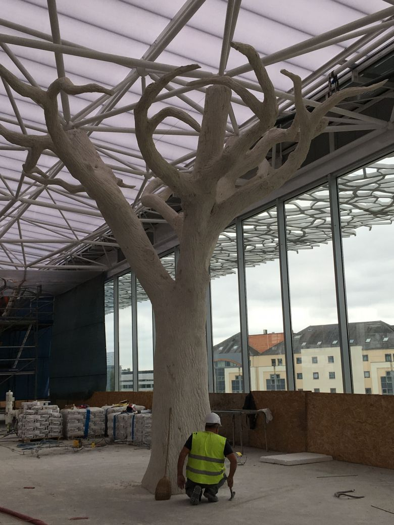 nantes travaux nouvelle gare avancent ouverture au public juin 2020