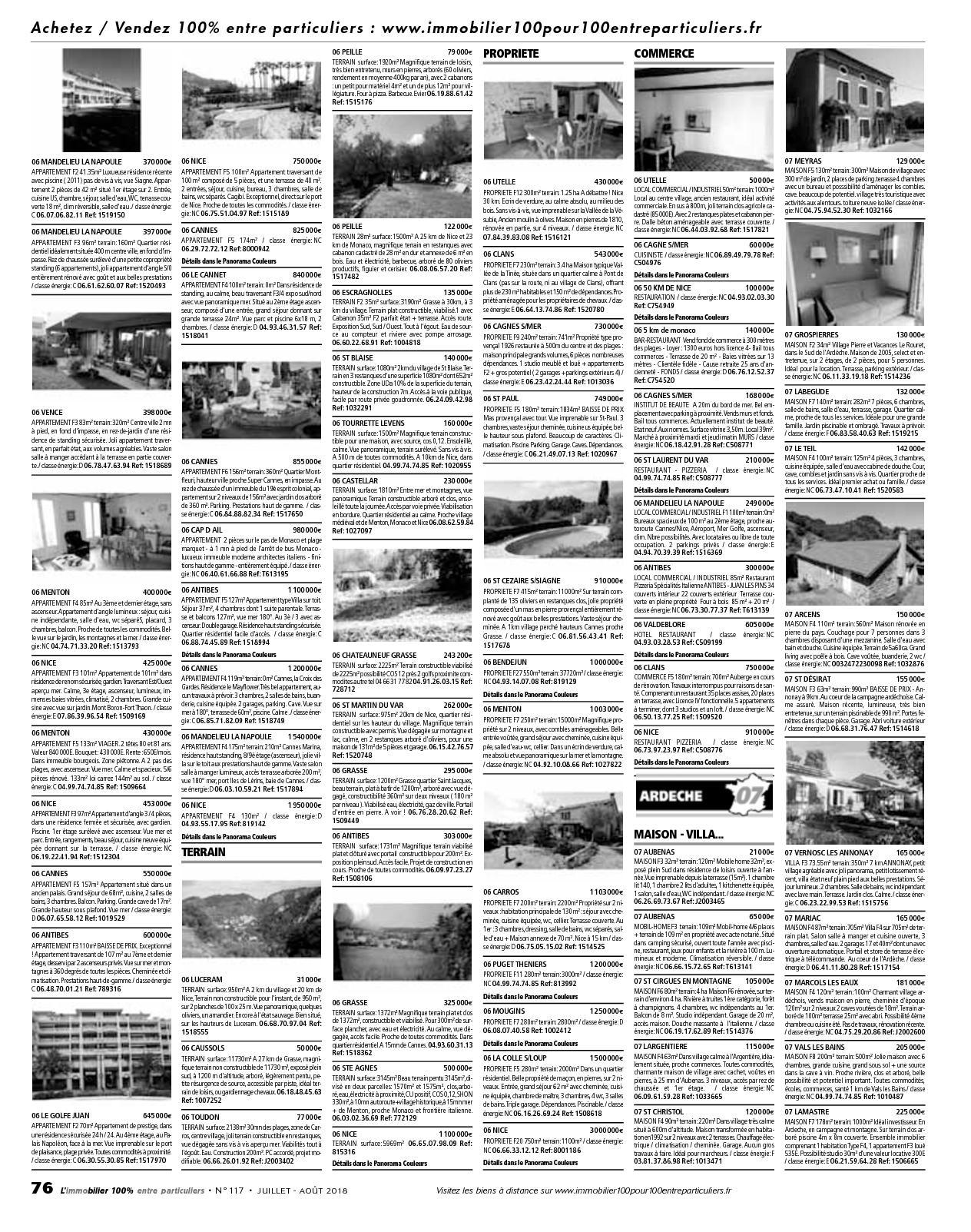 Entre Cours Et Jardin Frais L Immobilier Entre Particuliers – N°117 – Juillet Ao T