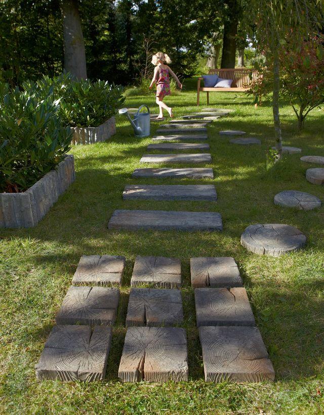 Faire Une Dalle Béton Pour Abri De Jardin Génial Créer Un Chemin Dans son Jardin Les Bonnes Idées De