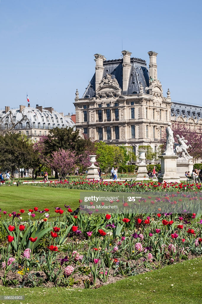 jardin du luxembourg in paris france picture id